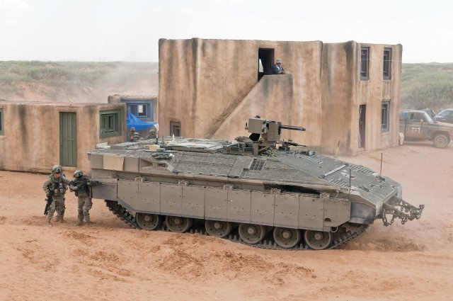 Israeli heavy armored personnel carriers Namer
