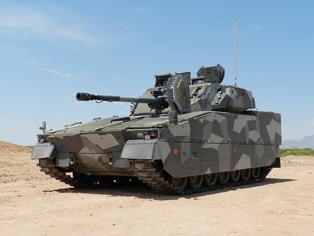 CV9035 BAE Systems to test the program GCV