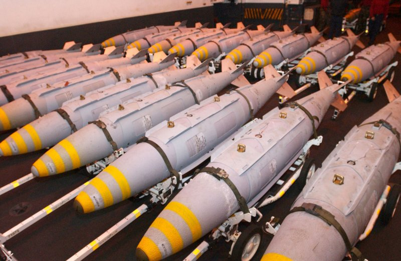 On the storage is more than 100,000 sets of JDAM