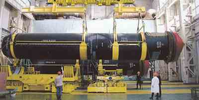 ballistic missiles transferred to the stocks in the complex assembly-Picking