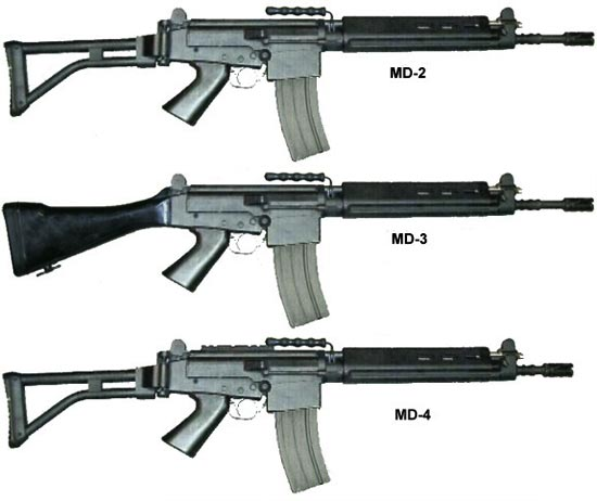 assault rifle (automatic) imbel md-1 / md-2 / md-3 / md-4