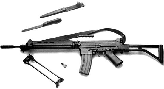 assault rifle ( automatic) imbel md-1 / md-2 / md-3 / md-4