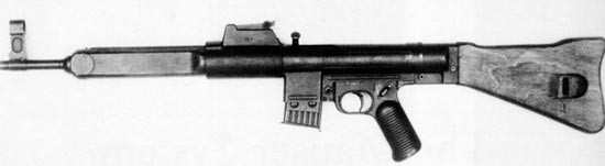 assault rifle (automatic) mauser ger & # 228; t 06 / mkb. 43 (m) / stg. 45 (m)