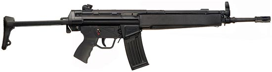 assault rifle (automatic) heckler & ; amp; koch hk Series 33