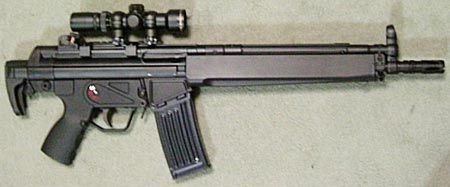 assault rifle (automatic) heckler & koch hk Series 33