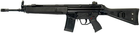 assault rifle (automatic) heckler & amp ; koch hk Series 33