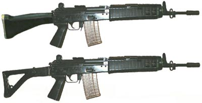 assault rifle (automatic) insas / kalantak / minsas