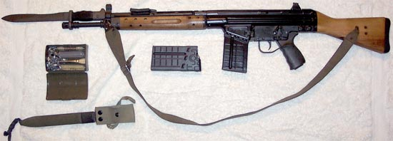 Assault rifle (automatic) CETME A / CETME B (modelo 58) / CETME C