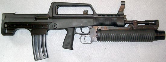 assault rifle (automatic) qbz-series 95 / type 95 / qbz-97 / type 97