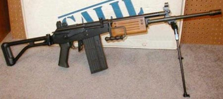 assault rifle (automatic) series galil
