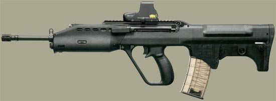 assault rifle (automatic) sar 21