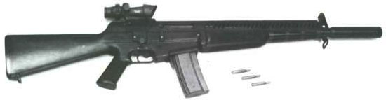 assault rifle (automatic) aai acr