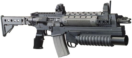assault rifle (automatic) zm weapons lr- 300 / para tactical target rifle