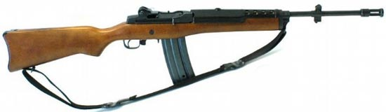 assault rifle ( automatic) ruger ac-556 / mini-14