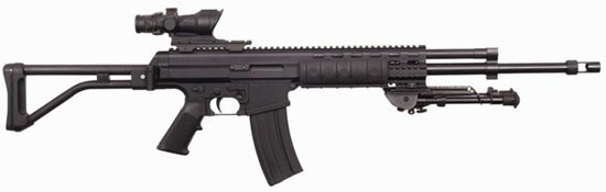 assault rifle (automatic) robinson armament xcr