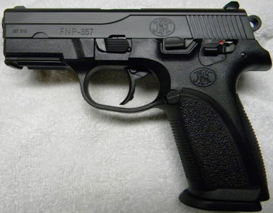 Пистолет FNP-9 / FNP-9M / FNP-357 / FNP-40 / Browning PRO-9 / Browning PRO-40