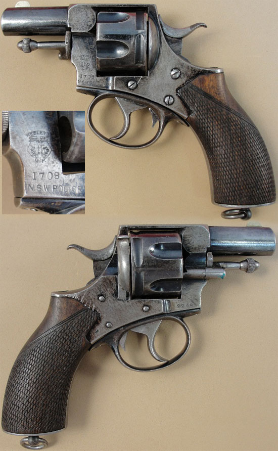 Револьвер Webley Metropolitan Police / Short Barrelled New Model