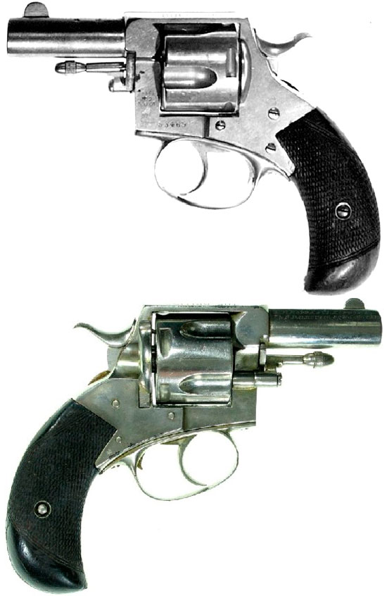 revolver webley № 2 british bull dog