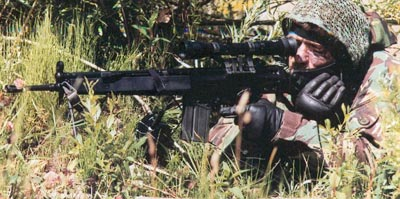 sniper rifle hk msg-90 / msg-90A1