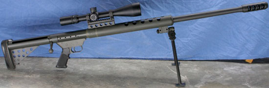 big bore sniper serbu bfg-50
