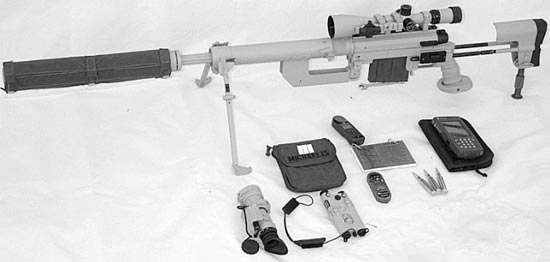 sniper rifle cheytac lrrs / long range rifle system
