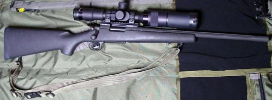 Снайперская винтовка Remington model 700