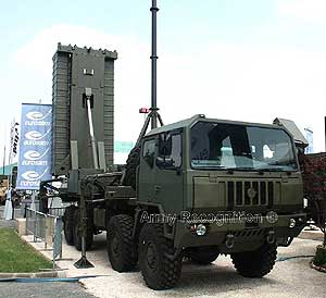 air defense missile system samp-t