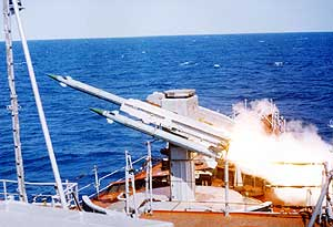 naval air defense missile system wasp-m