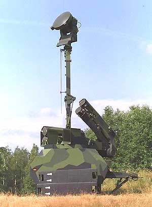 air defense missile system rbs-23 bamse