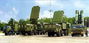 air defense missile system S-400 Triumph