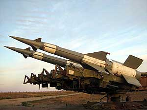 anti-aircraft missile system with 125m-neva-m