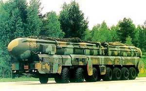 intercontinental ballistic missile Topol (RS-12M)